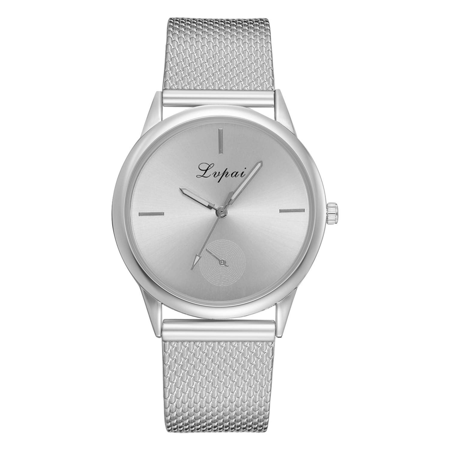 Belt Watches for Women,Women's Casual Quartz Silicone Strap Band Watch Analog Wrist Watch,Girls' Wrist Watches,Silver,Women Watches Waterproof