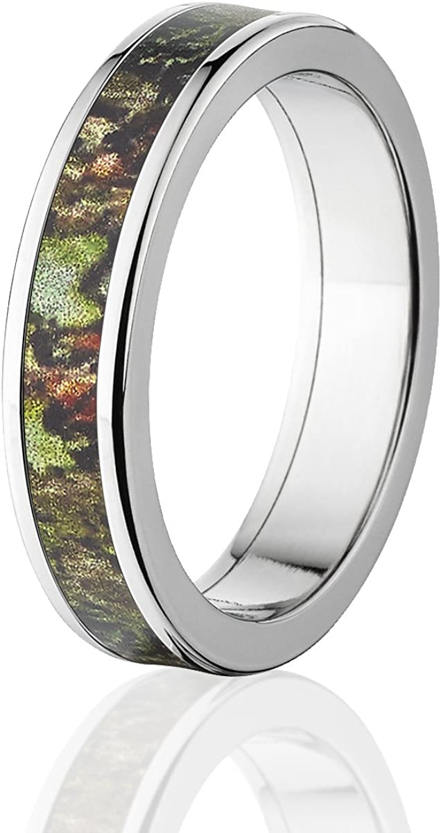 Mossy Oak Obsession Camo Rings Camouflage Wedding Bands /& Rings