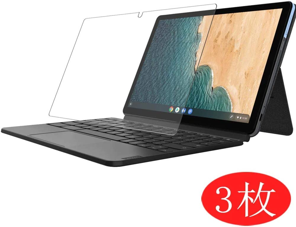 """[3 Pack] Synvy Screen Protector for Lenovo IdeaPad Duet Chromebook 10.1"""" TPU Flexible HD Film Protective Protectors [Not Tempered Glass]"""