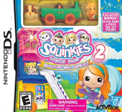 Squinkies Adventure Mall Suprize Nintendo DS product image