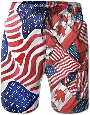 HZamora/_H Mens Dollars Summer Breathable Quick-Drying Swim Trunks Beach Shorts Board Shorts