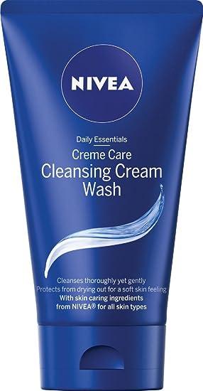 צעיר NIVEA Face Cleansing Cream Wash Creme Care, 150 ml, Pack of 6 PH-86