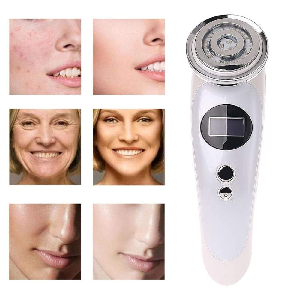 SZ&LAM Multi-Function EMS Ion Beauty Instrument,Freckle Rejuvenation Beauty Instrument Cold and Hot Skin Rejuvenation Instrument Face Massager for Skin Care Facial Cleaner Anti-Aging Anti-Wrinkle by SZ&LAM