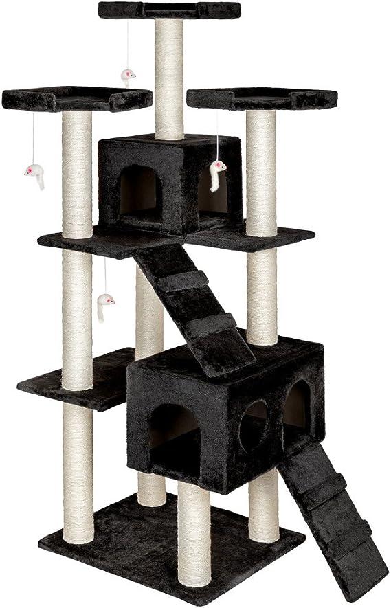 Arbre à chat 186 cm knuti noir