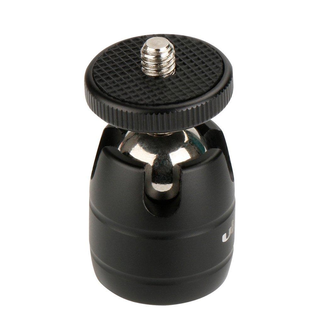 SM SunniMix 360 ° Pivotant Support de l'Adaptateur de Montage de Chaussure Froide Rotule avec Vis 1/4 '' pour Caméra Vidéo Caméscope DV