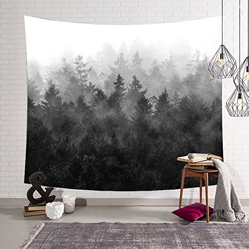 Used, Forest Tapestry Woodland Decor Collection Night and for sale  Delivered anywhere in USA