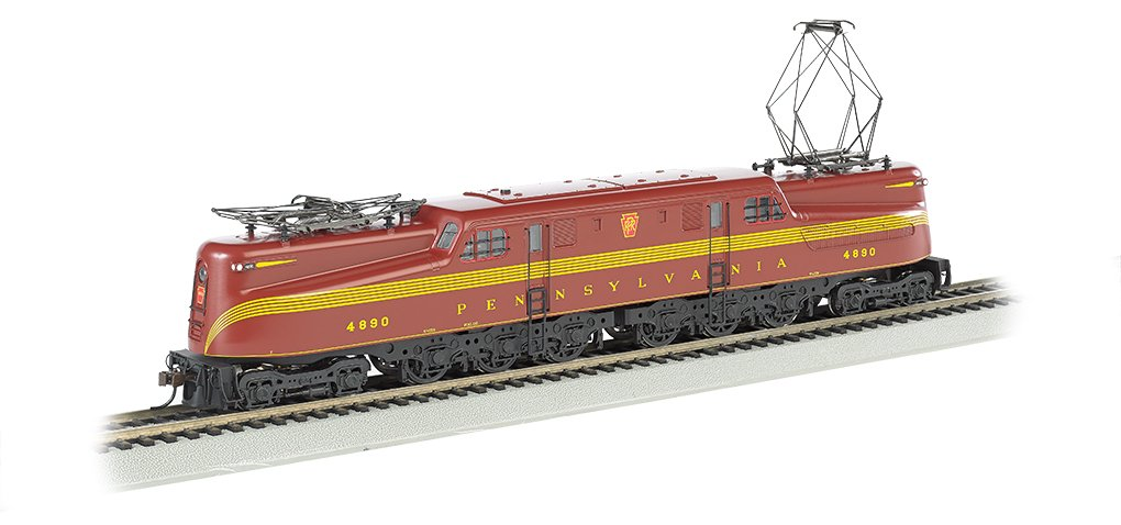 Bachmann Industries PRR #4890 Diesel Locomotive Train