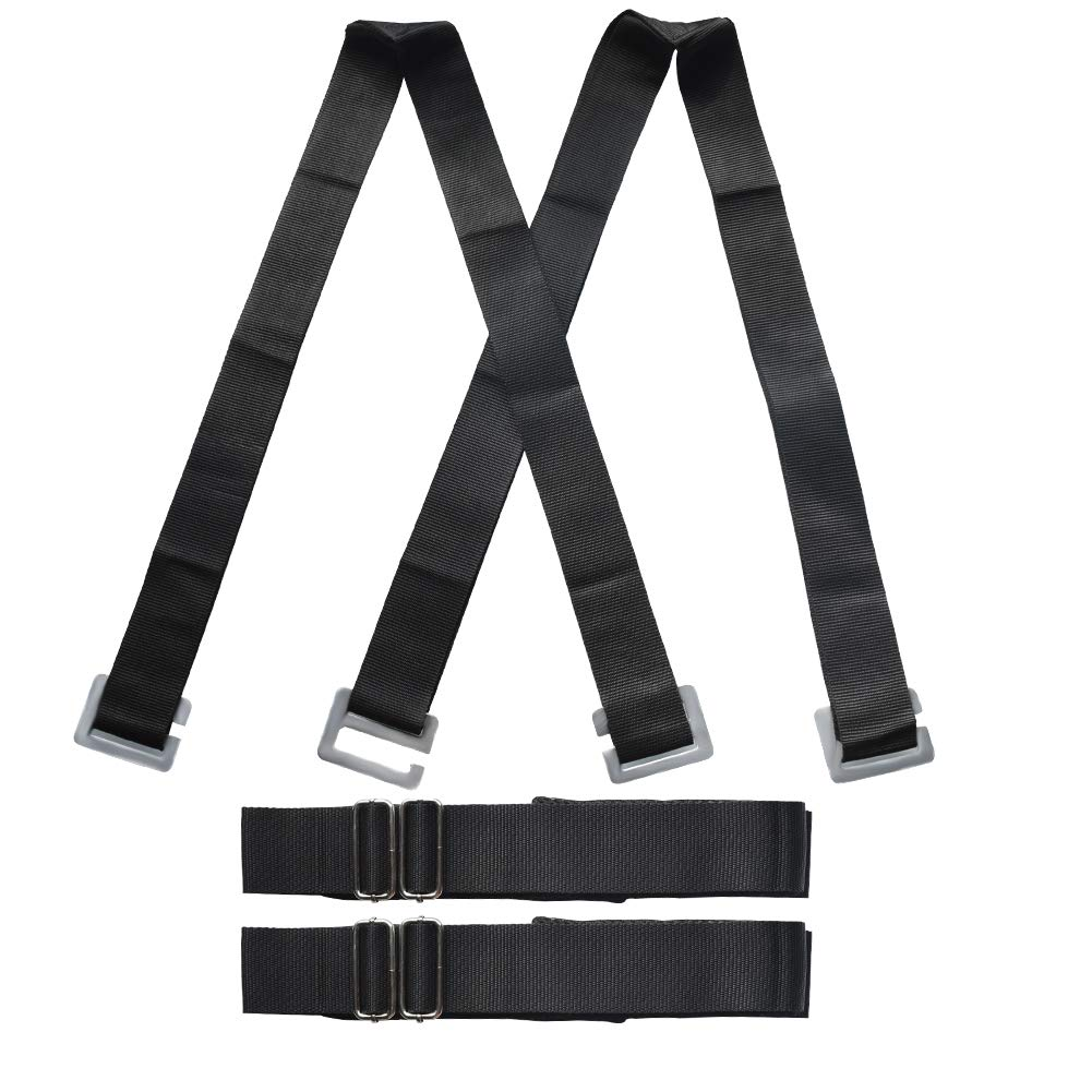 Appliance Straps for Two Person Forearm Forklift Ergonomic Adjustable Length Grip Secure Furniture,Appliances, Heavy Objects Without Back Pain Good Helper to Mover