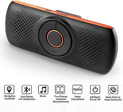 Lot of 5 Jabra Drive Bluetooth Handsfree Car Speaker Mic Kits