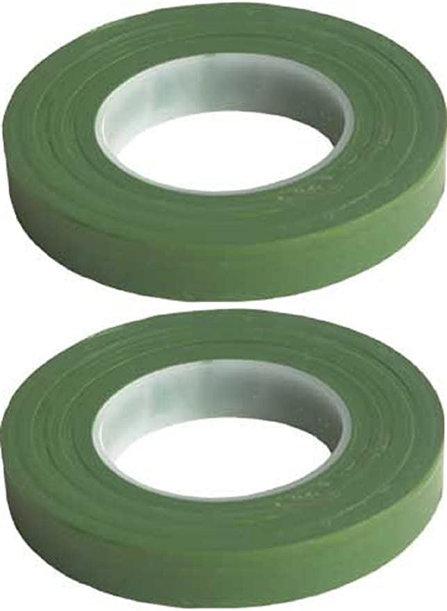 Dark Green eBoot Pack of 3 Floral Tape Stem Wrap 1//2 Inch x 30 Yards