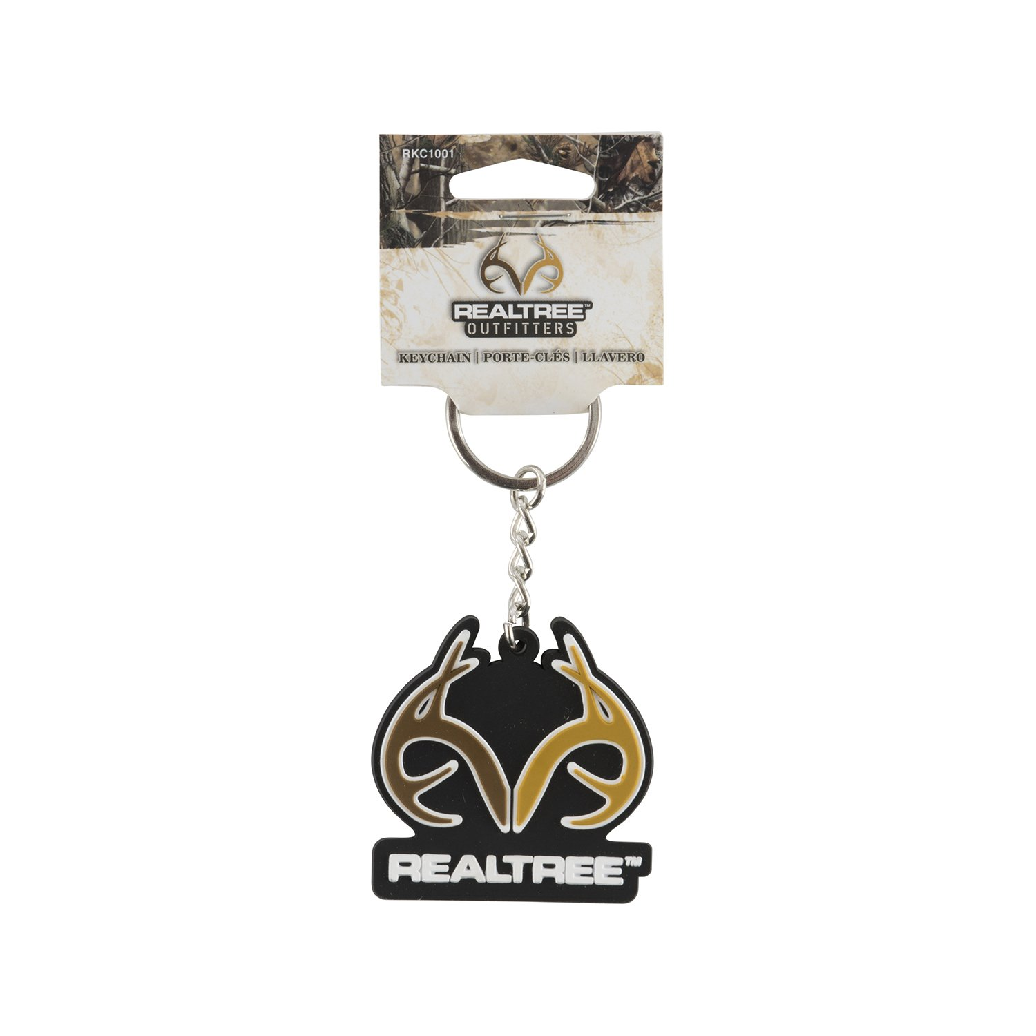 Realtree Outfitters Rubber Keychain