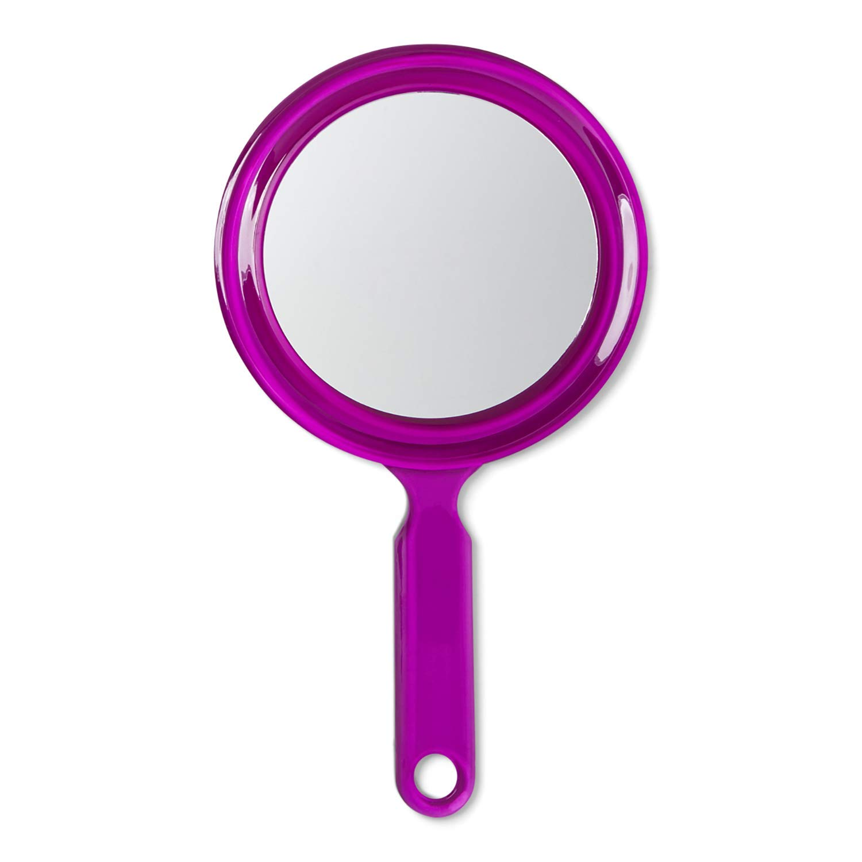 Salon Care Round 2-Sided Hand Mirror
