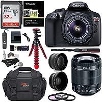 Canon T6 Digital Rebel SLR Camera Kit with EF-S 18-55mm...