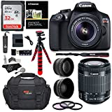 Canon T6 Digital Rebel SLR Camera Kit with EF-S 18-55mm f/3.5-5.6 IS II