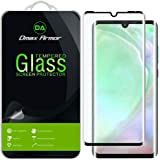 [2-Pack] Dmax Armor for Huawei (P30 Pro) Tempered Glass Screen Protector, [Full Screen Coverage][3D Curved Glass] Anti…