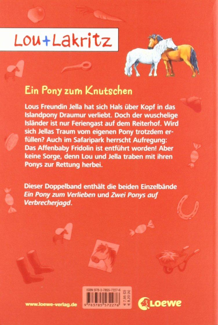 Lou Lakritz Ein Pony Zum Knutschen 9783785572276 Amazoncom Books