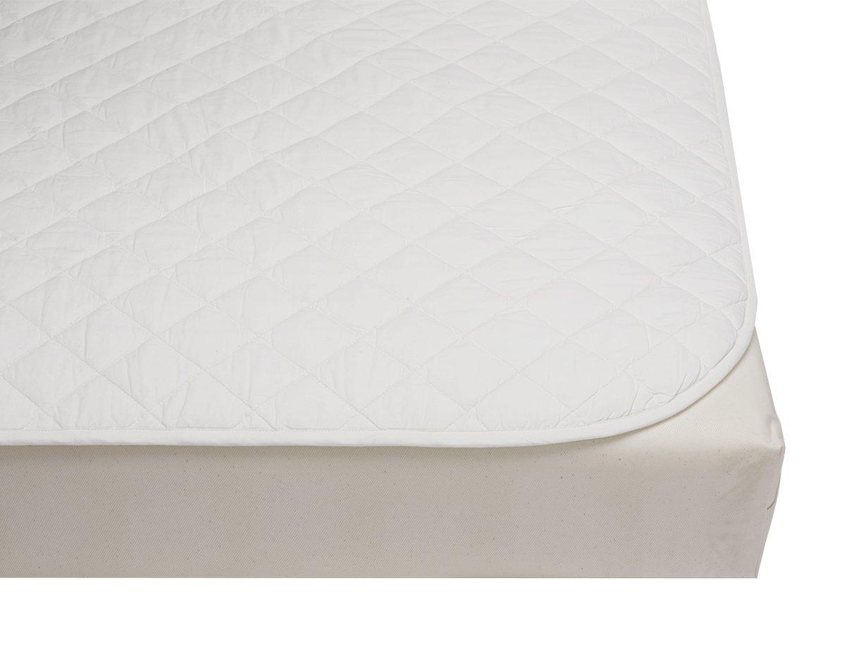 Coyuchi Mattress Pad, Crib, White