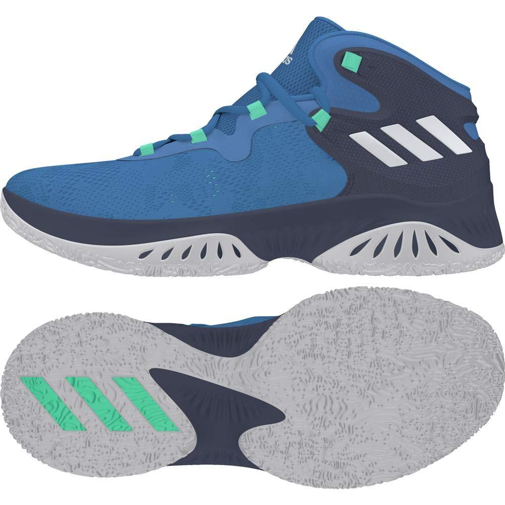 Bleu (Azuosc   Plamet   None 000) adidas Explosive Bounce, Chaussures de Basketball Homme 42 EU