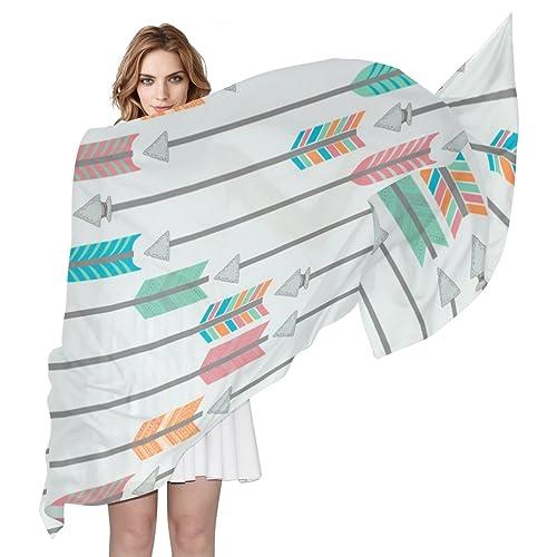 COOSUN - Bufanda - para mujer multicolor Medium