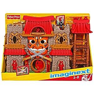 Imaginext Fisher Price Samurai Castillo (Se distribuye desde Reino Unido)