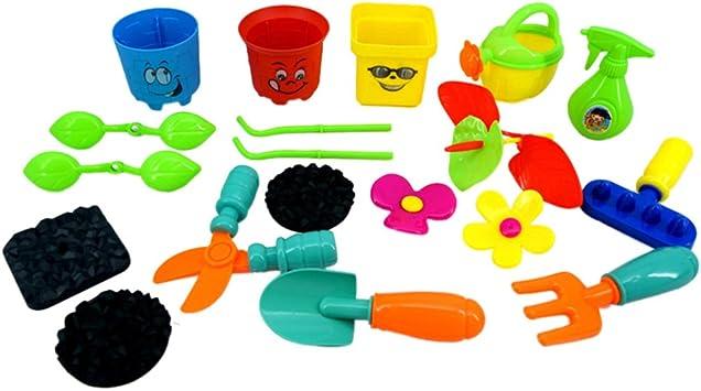 joyMerit Jardinería Plantar Juego Juego Jardín Plástico Herramientas Manuales Juguete para Niños Niños: Amazon.es: Juguetes y juegos