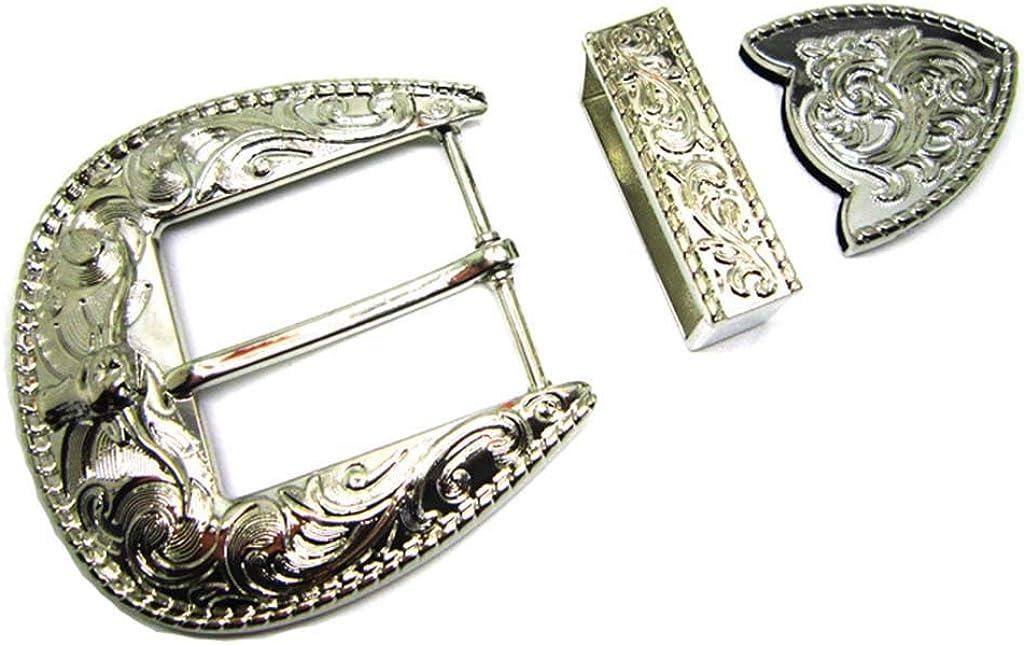 Yone Fibbia per Cinture Bull Longhorn Belt Buckle Cowboy Gold Silver Metal