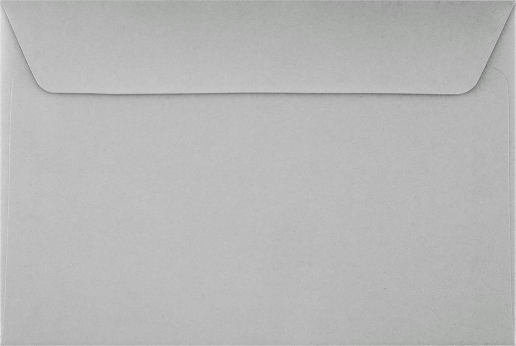6 x 9 Booklet Envelopes - 28lb. Gray Kraft (250 Qty) | Perfect for mailing Documents, Catalogs, Direct Mail, Promotional Material, Brochures and More| 4820-GK-250 Envelopes.com