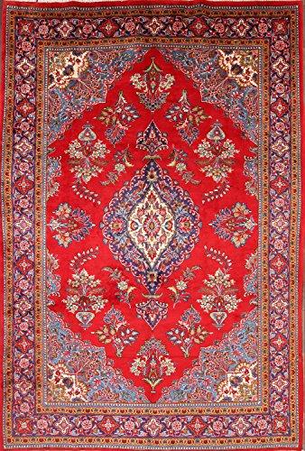Viss Persian Rugs (8x12 Golpayegan Viss Persian Hand Made Area Rug 100% Wool (11' 7'' x 8' 2''))