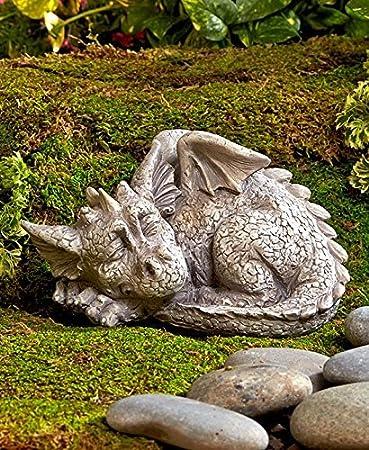 garden sculpture. Dragon Garden Statue Sculpture L