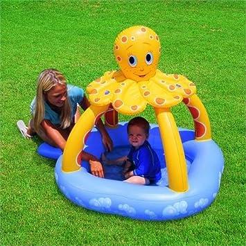 Bestway Swim Safe Kids Octopus - Octopus Infantil, tamaño 102x102x102cm (40