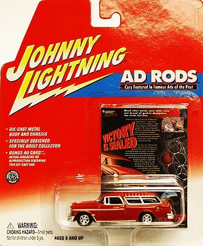 Amazon Com Johnny Lightning Ad Rods Victory Is Sealed 1955 Chevy