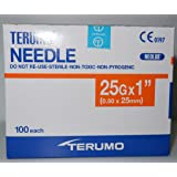 "Terumo 25G x 1"" (0.50x25mm) 100 Each/Pack"