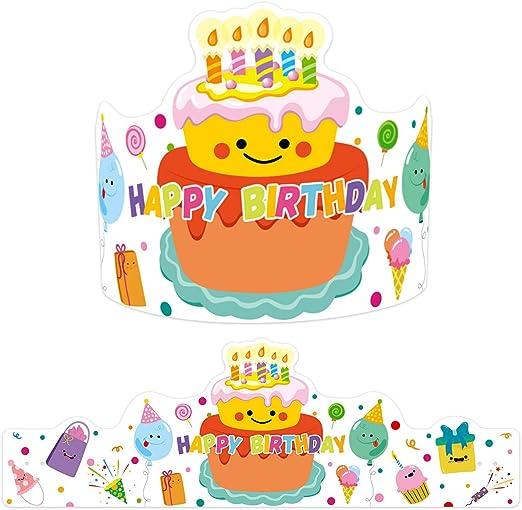 Amazon.com: Corona de confeti de 30 cumpleaños temática para ...