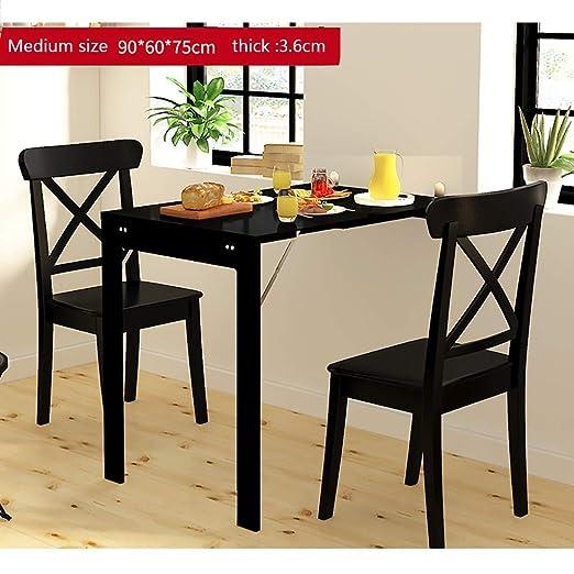 Mesa de comedor plegable Mesa plegable de pared para espacios ...