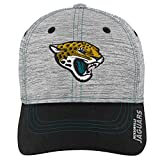 Outerstuff NFL NFL Jacksonville Jaguars Youth Boys Velocity Structured Flex Hat Heather Grey, Youth One Size