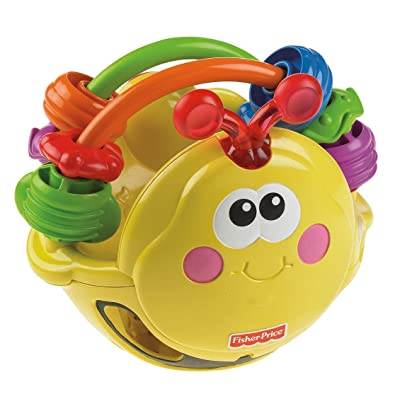 Fisher-Price Go Baby Go! Gigglin' Bee Ball: Toys & Games