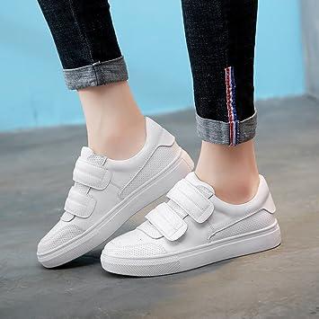 LIANGJUN Zapatillas De Las Mujeres Zapatos Planos Deportes Al Aire Libre  Primavera 31d542afcc12