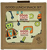 Sugarbooger Good Lunch Snack Set, Retro Robot