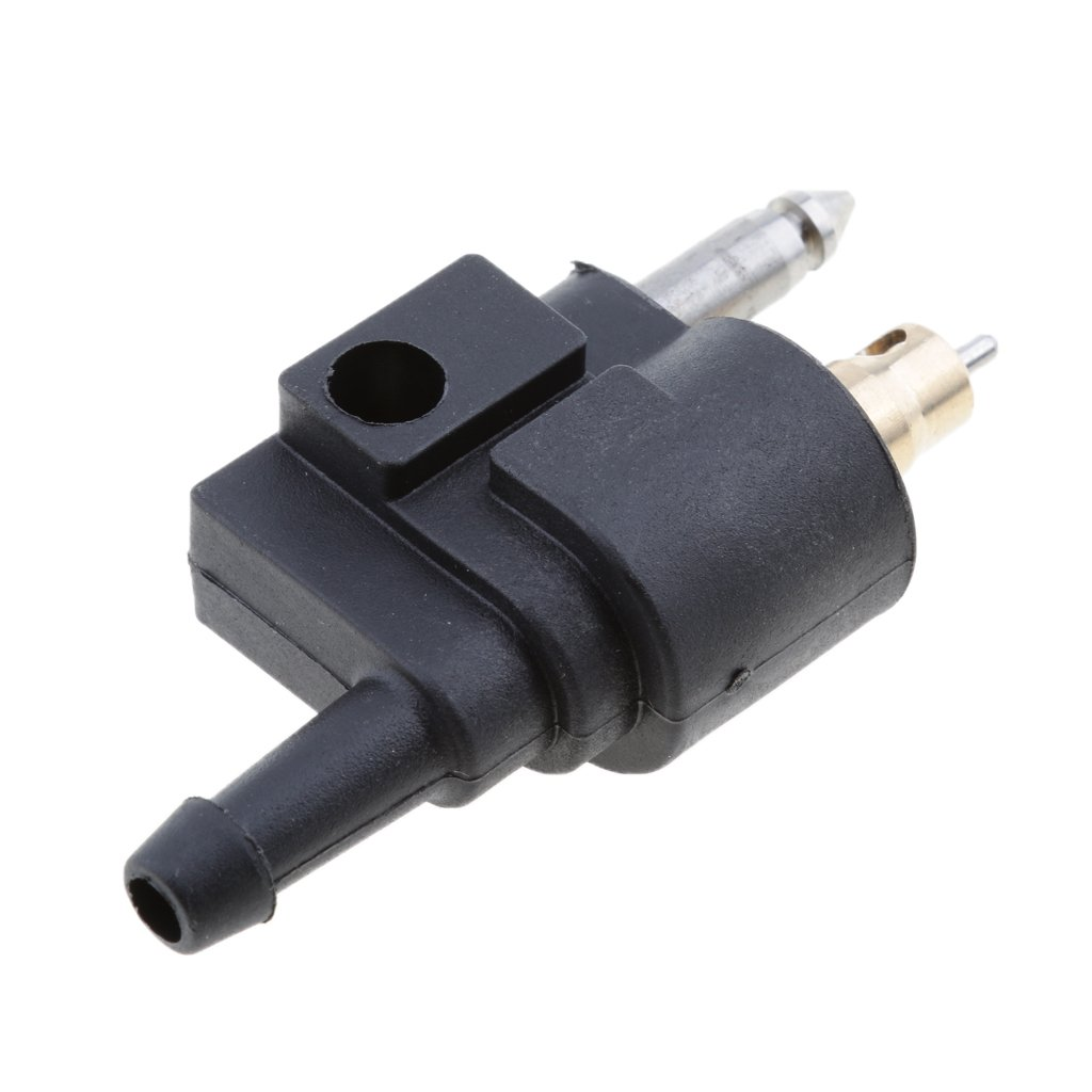 Baosity 1//4 Inch Male Fuel Line Connector Joint Fitting for Yamaha Outboard Mount on Engine