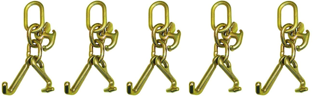 B/A Products 11-7CL Hook Cluster, Mini J, R and T, 2.5 Height, 4.5 Width, 7 Length (5-(Pack))
