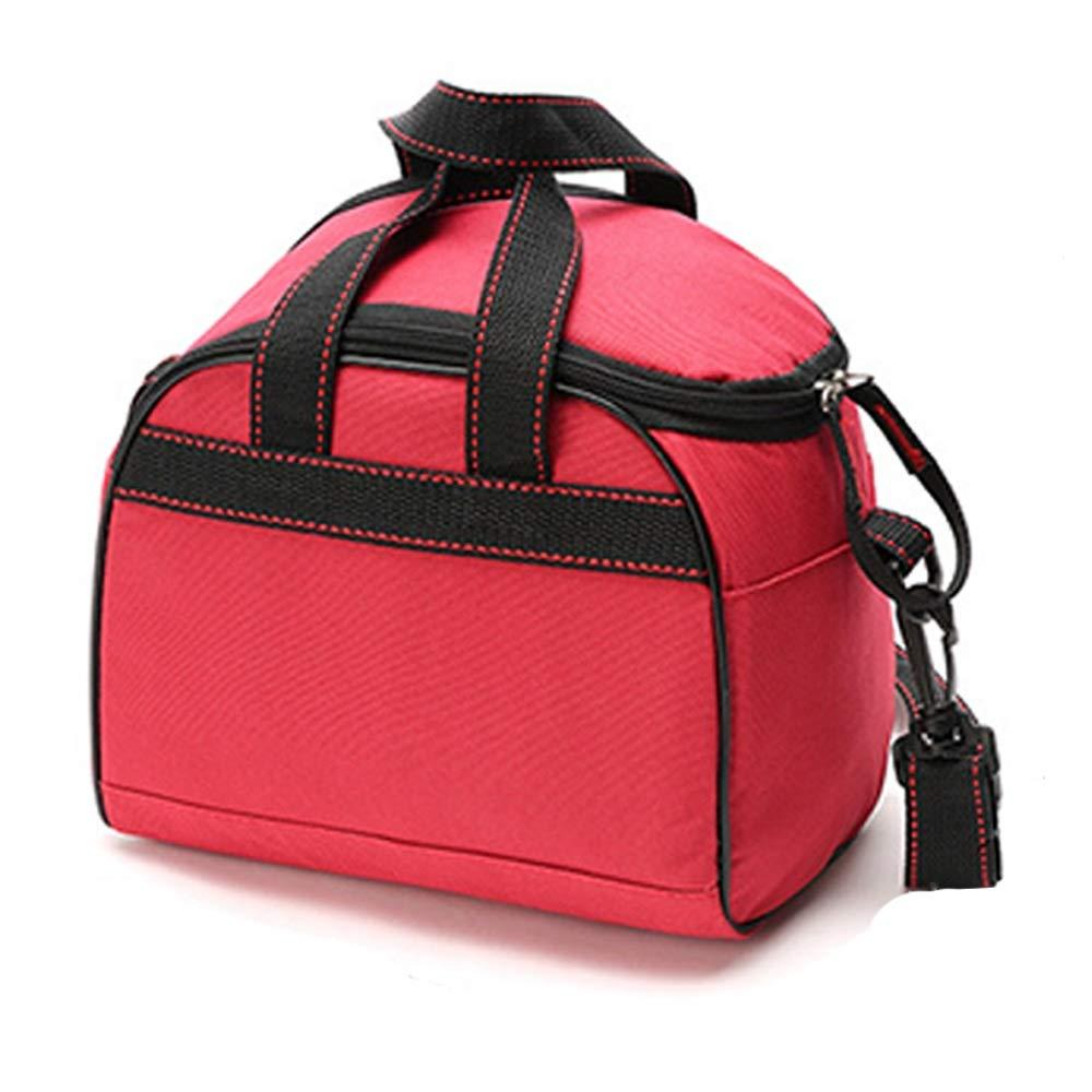 HUIFEI Picknicktasche Multifunktions Oxford Tuch Frische Tragbare Wasserdichte Picknicktasche 13  23  20 cm (Farbe   Rot, größe   13  23  20cm) B07Q5MG3FL     | Qualität