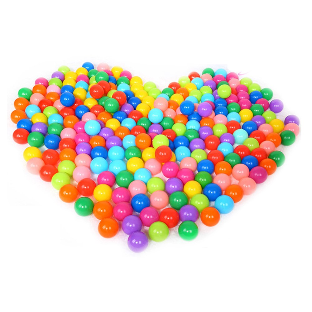 100pcs Colorful Ocean Ball For Baby Kids Children Soft Plastic Birthday Parties Events Playground Games Pool Toy Childplaymate