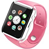 Devsadan Smart Watch A1 Bluetooth Smartwatch Compatible with All Mobile Phones for Boys and Girls (Silver)
