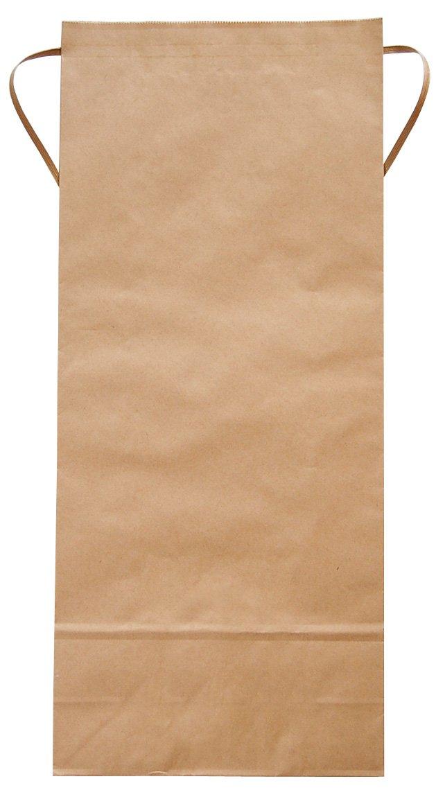 マルタカ クラフト 無地 窓なし 角底 10kg用紐付米袋 1ケース(300枚入) KH-0800 B077GK85W9 10kg用米袋|1ケース(300枚入) 1ケース(300枚入) 10kg用米袋
