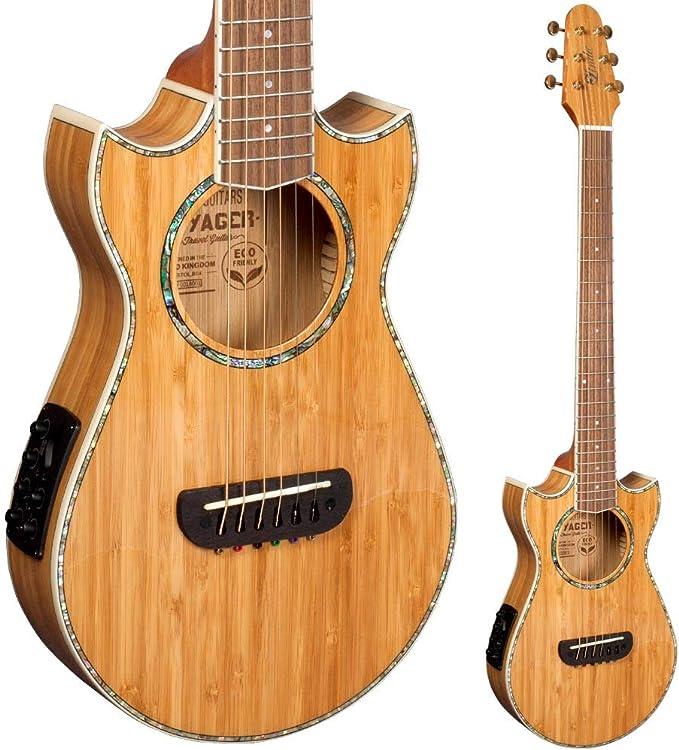 Lindo Eco Voyager SE Guitarra de viaje electroacústica de bambú ...