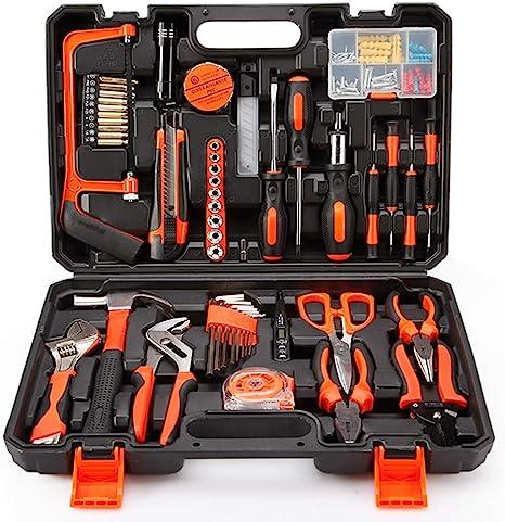 GYL TOOL Casa Kit de Herramientas Caja de Herramientas de Mano Apto para electricistas de carpintería: Amazon.es: Deportes y aire libre