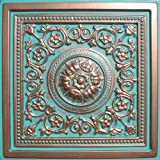 30pc of Majesty Copper/Patina (24''x24'' PVC 16 mil) Ceiling Tiles - Covers about 120sqft
