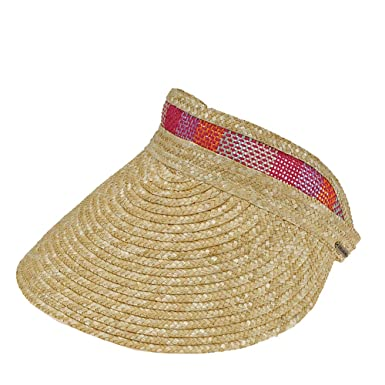 aaef24ec4 Billabong Women's Far Away Straw Visor Wild Honey One Size at Amazon ...