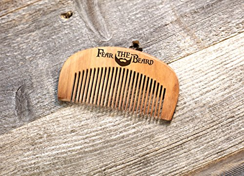 [Personalized Comb - Fear the Beard] (Nautical Beard)