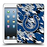 Official NFL Camou Indianapolis Colts Logo Soft Gel Case for Apple iPad mini 1 / 2 / 3